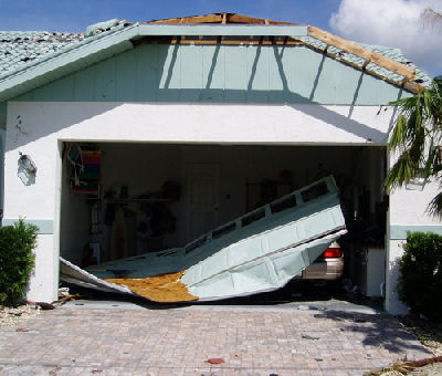 How to Check the Garage Door after a Storm