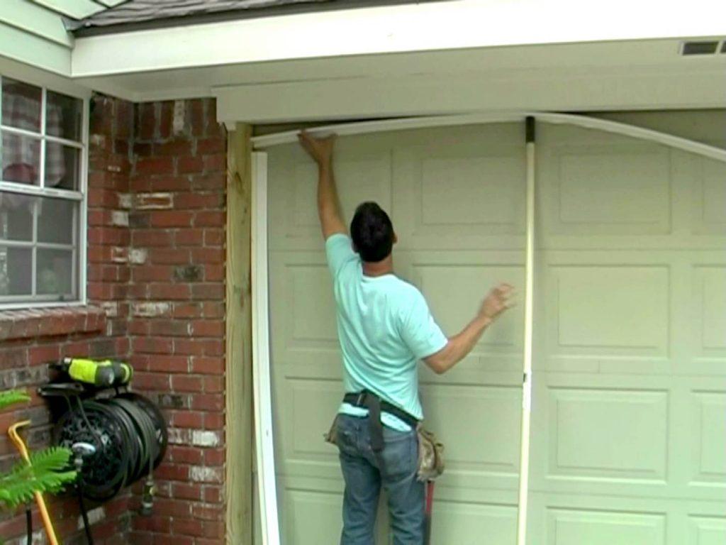 garage door waterproofing