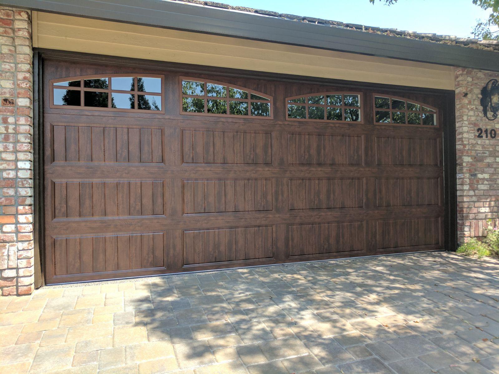 Carrige Garage Door With Windows